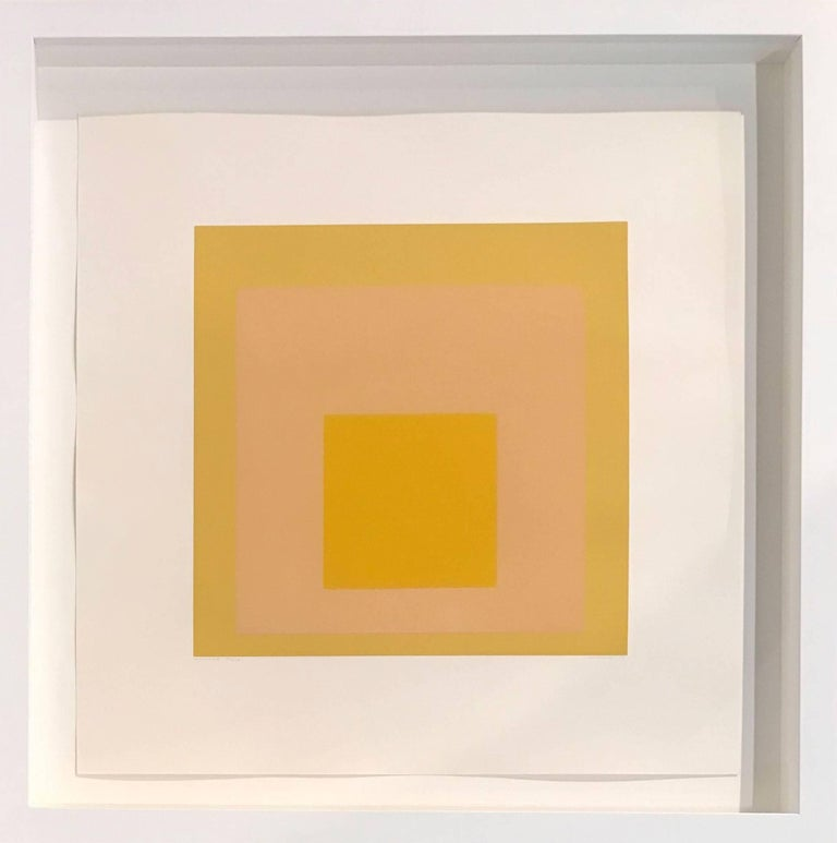 Josef Albers Abstract Print - Arrived