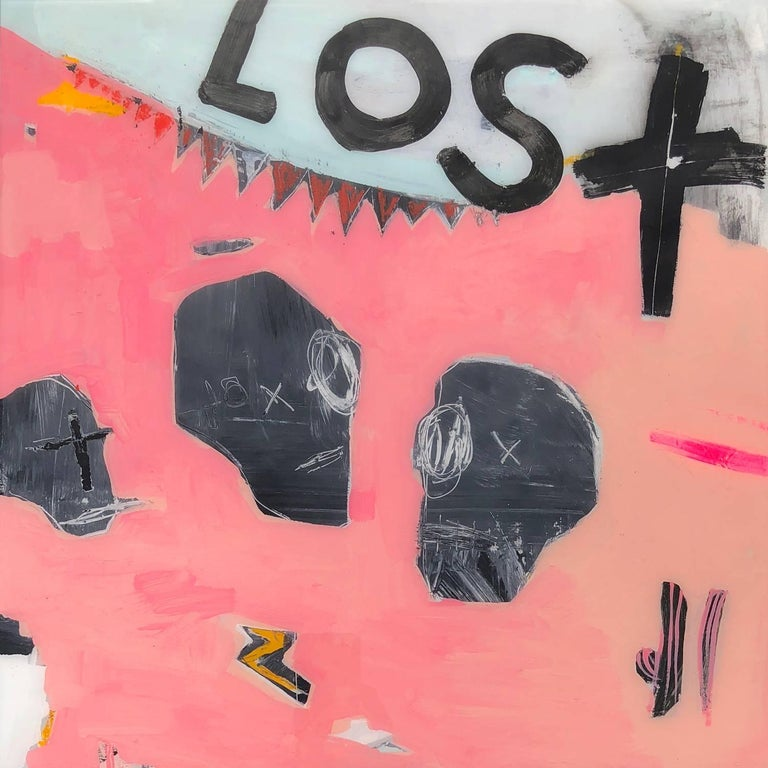 Gino Belassen Abstract Painting - Lost Love