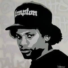 Boyz in the Hood - original contemporary pop portrait of Eazy-E by Rod Benson