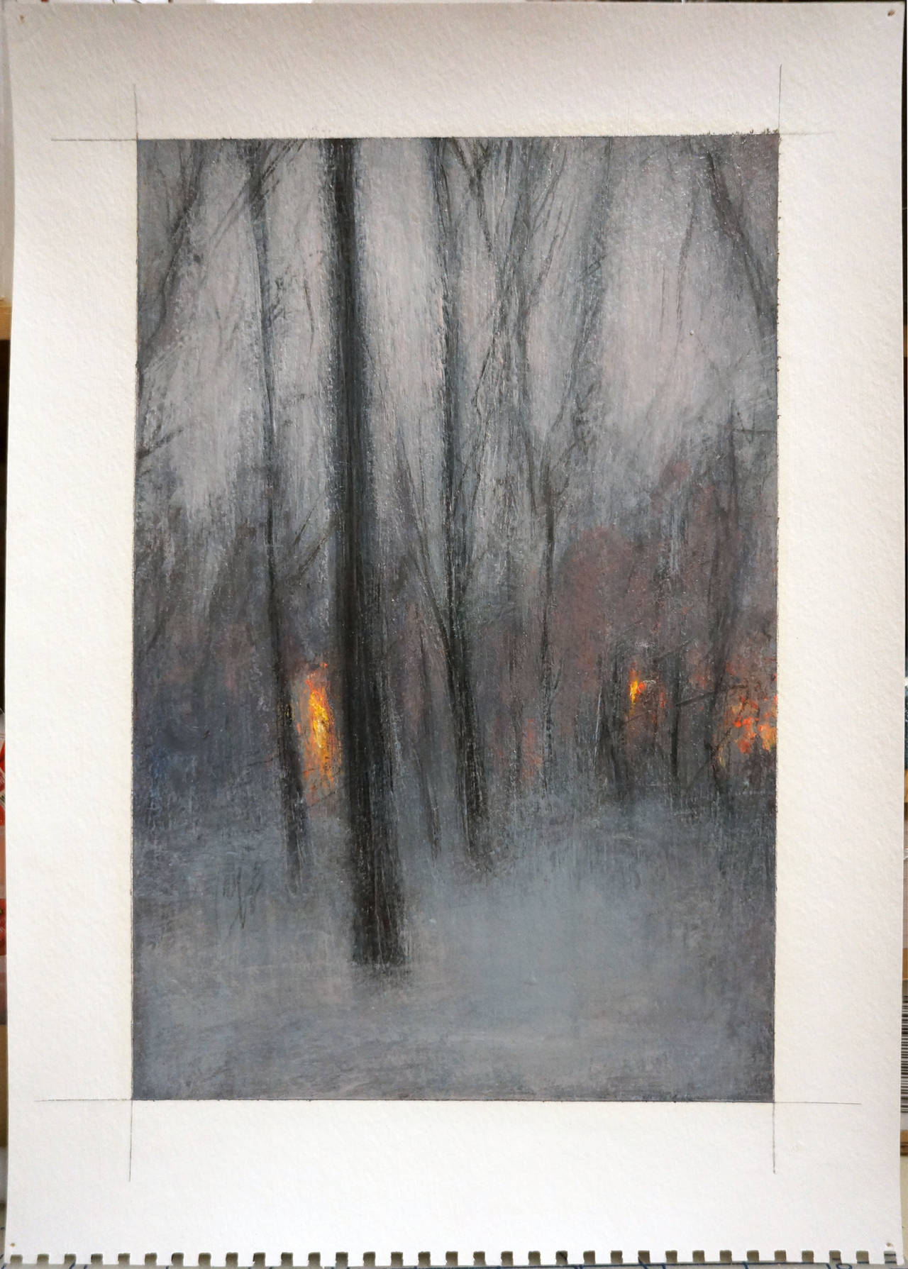 Adam straus ter indian island park painting at 1stdibs for 14 strauss terrace