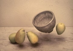 Drifting Pears and Bowl