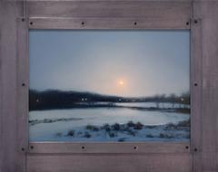 MOONRISE: LONG ISLAND WINTER