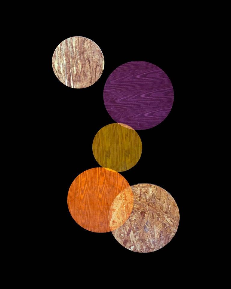 Purple, Orange, Yellow Circles