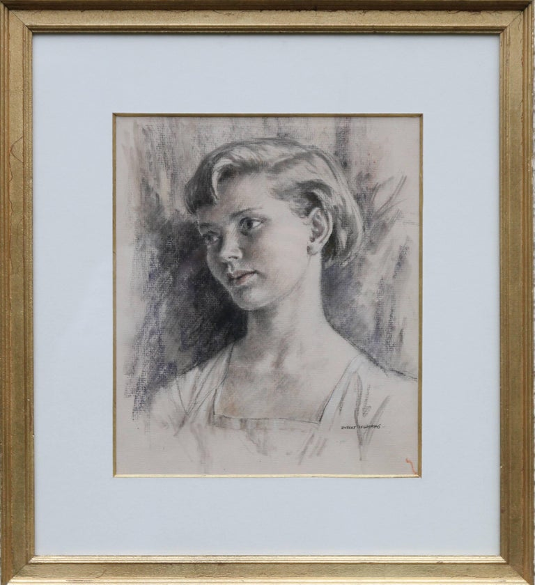Frank G Howes Ballet Dancer British Art Deco Drawing Woman Dancing For Sale At 1stdibs