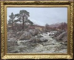 Above Loch Fyne - Scottish Impressionist Glasgow Boy oil painting landscape
