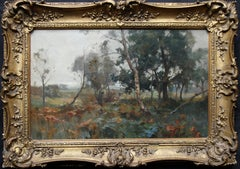 The Muirton Blairgowrie - Scottish 19thC Glasgow Impressionist oil painting art