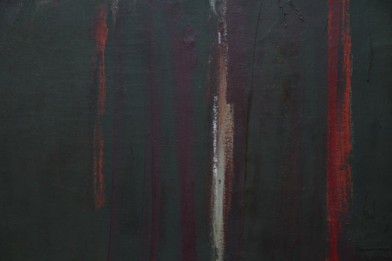 Abstract - British Moderist Abstract Art  - 1950's St Ives School oil painting - Painting by Trevor Bell