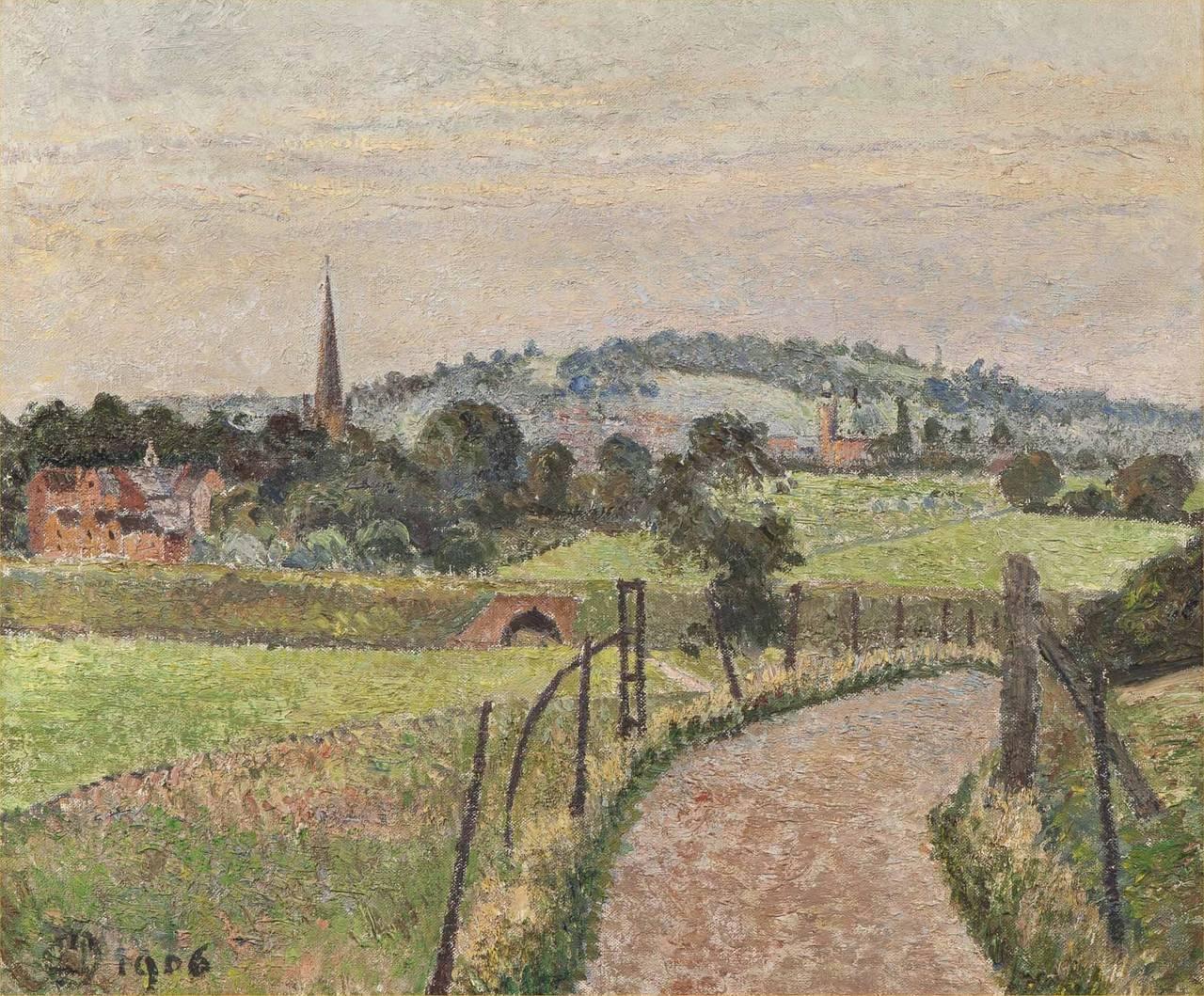Lucien Pissarro Paintings For Sale