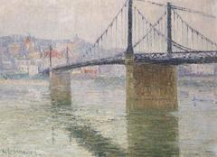 Le Pont Suspendu de Triel sur Seine