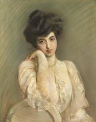 Portrait de Camille Tiranty, Epouse Pavie
