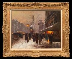 La Porte St. Denis en hiver