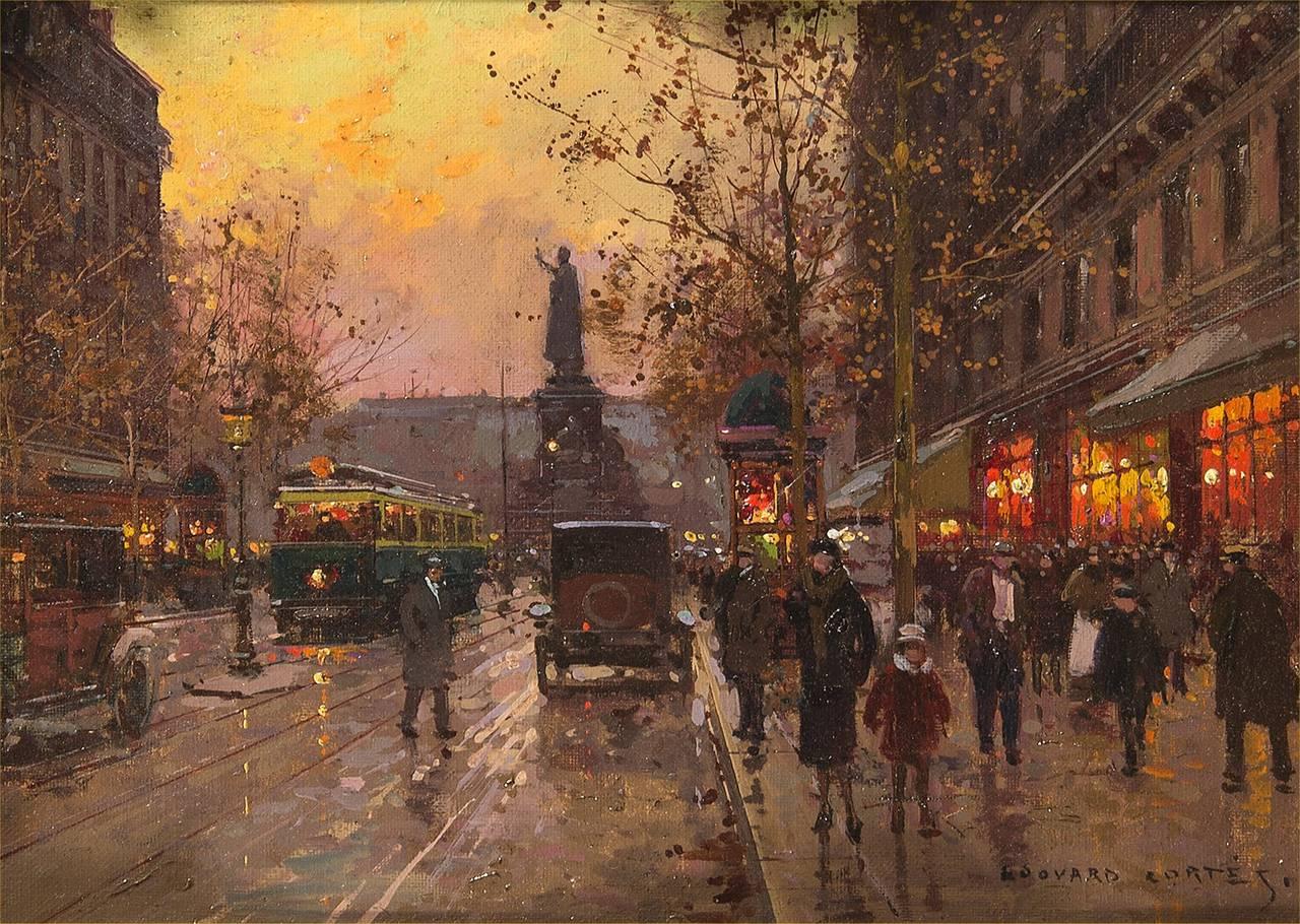 201 Douard Leon Cort 232 S Place De La Republique Painting At