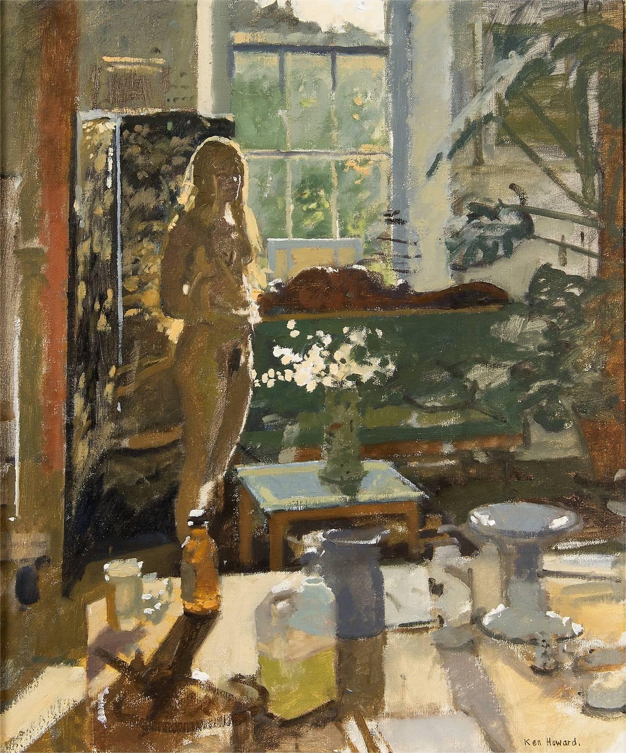 Ken Howard Summer Interior Painting At 1stdibs