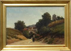 """Walking Home, Picardy, France, 1864"""