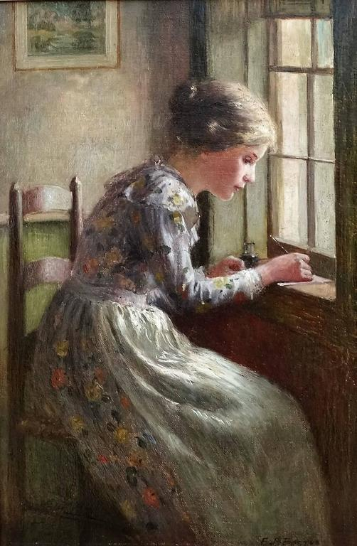 Writing by the Window