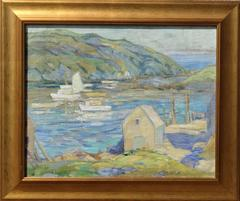"""The Wharf on Monhegan Island"""