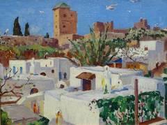 Rooftops, Rabat, Morocco