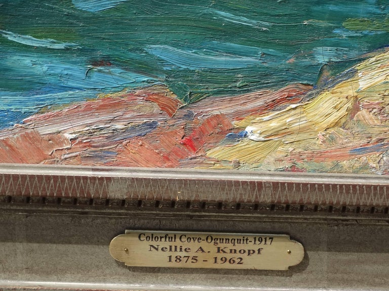 Nellie Augusta Knopf Quot Ogunquit Cove Quot Painting For Sale