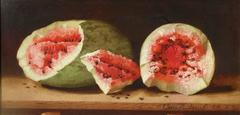 Watermelons on a Ledge