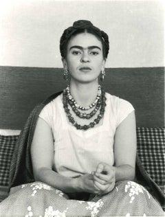 Frida Seated, Puente de Alvarado Studio, 1937