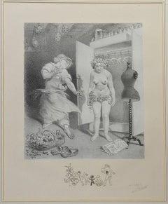 Art Nouveau Prints and Multiples