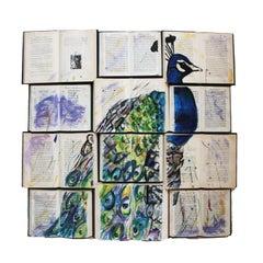 Peacock in Blues