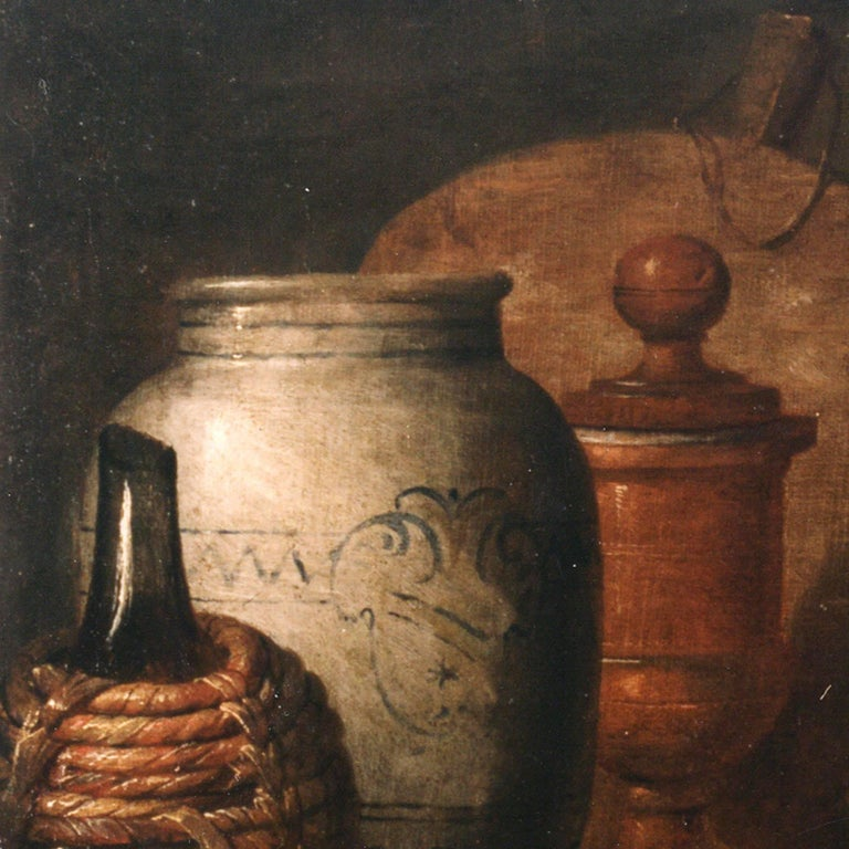 Italian Old Master Felice Boselli 'Still Life' Circa 1690 Oil Paint on Canvas - Old Masters Painting by Felice Boselli