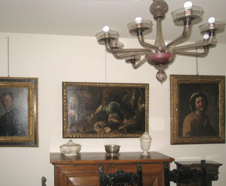 Italian Old Master Felice Boselli 'Still Life' Circa 1690 Oil Paint on Canvas For Sale 8