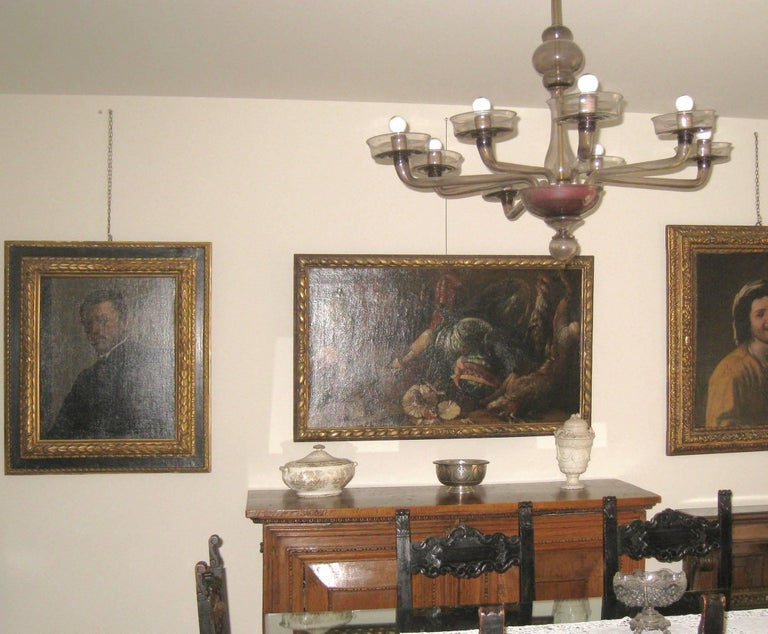 Italian Old Master Felice Boselli 'Still Life' Circa 1690 Oil Paint on Canvas For Sale 9
