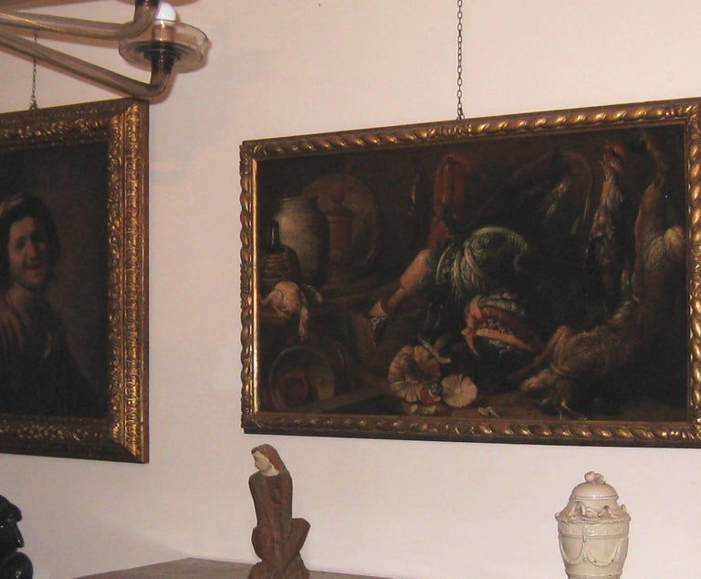 Italian Old Master Felice Boselli 'Still Life' Circa 1690 Oil Paint on Canvas For Sale 11