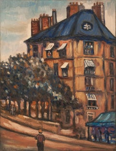 "Abraham Mintchine ""Paris"" Circa 1930, Oil on Canvas School of Paris"