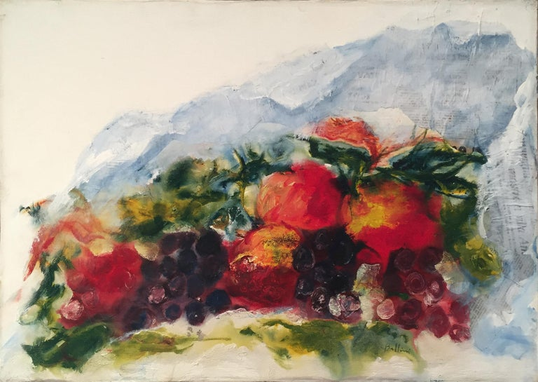 Vittorio Bellini 'Still Life' 1986 Oil Canvas Contemporary Expressionism Italy