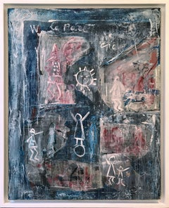 'Picasso, Unlikable Genius' 2007 Graffiti Expressionism Oil Mixed Media Canvas