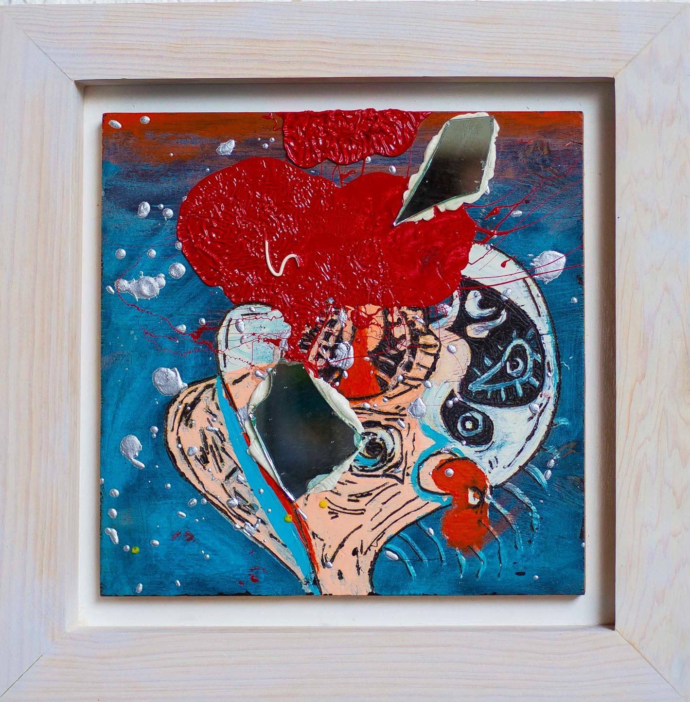 Serie: Abstractos con espejo 2