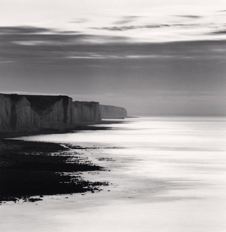 Michael Kenna Landscape Photograph - Ault Cliffs, Study 1, Picardy, France, 2009