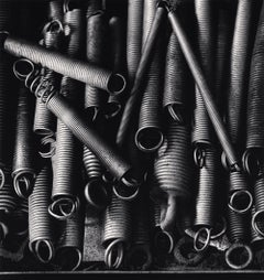 Lace Factories, Study 17, Calais, France, 1997 - Michael Kenna (Black and White)