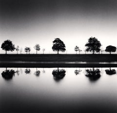 Reflecting Trees, Saint Valery Sur Somme, France, 2009 - Michael Kenna