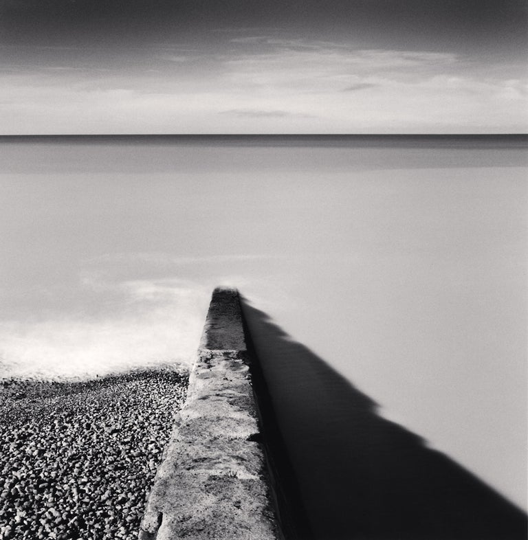 Michael Kenna Landscape Photograph - Rising Tide, Ault, Picardy, France, 2009
