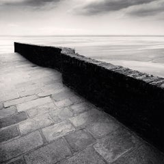 Winding Wall, Mont St Michel, France, 2004 - Landscape Photography