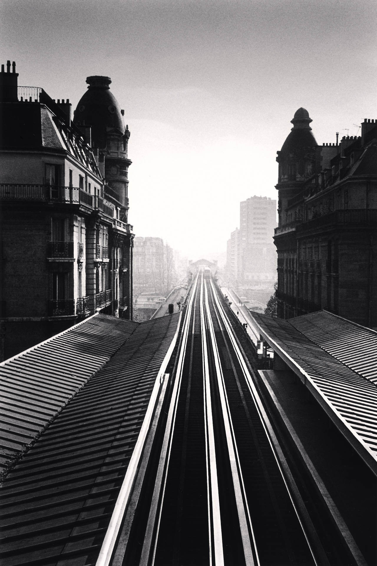 Passy Metro, Paris, 1991 - Michael Kenna (Black and White Photography) For Sale 1