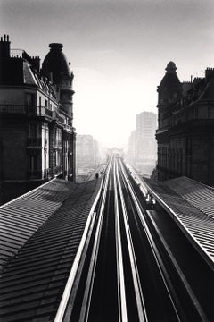 Passy Metro, Paris, 1991 - Michael Kenna (Black and White Photography)