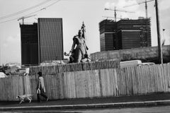 La Defense, Paris, France, 1972 - Henri Cartier-Bresson (Black and White)