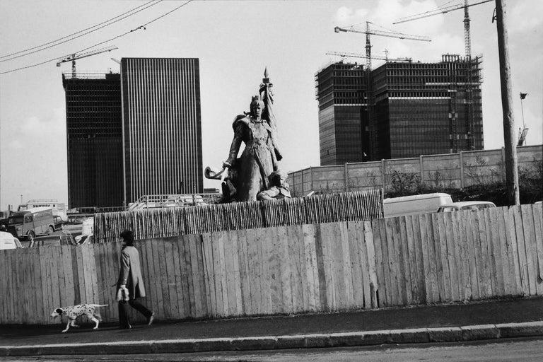 Henri Cartier-Bresson Black and White Photograph - La Defense, Paris, France, 1972