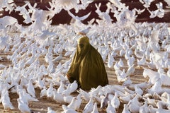 Pigeon Feeding Near Blue Mosque, 1991