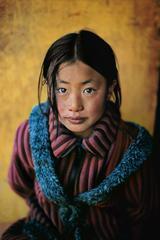 Girl in New Coat, Xigaze, Tibet