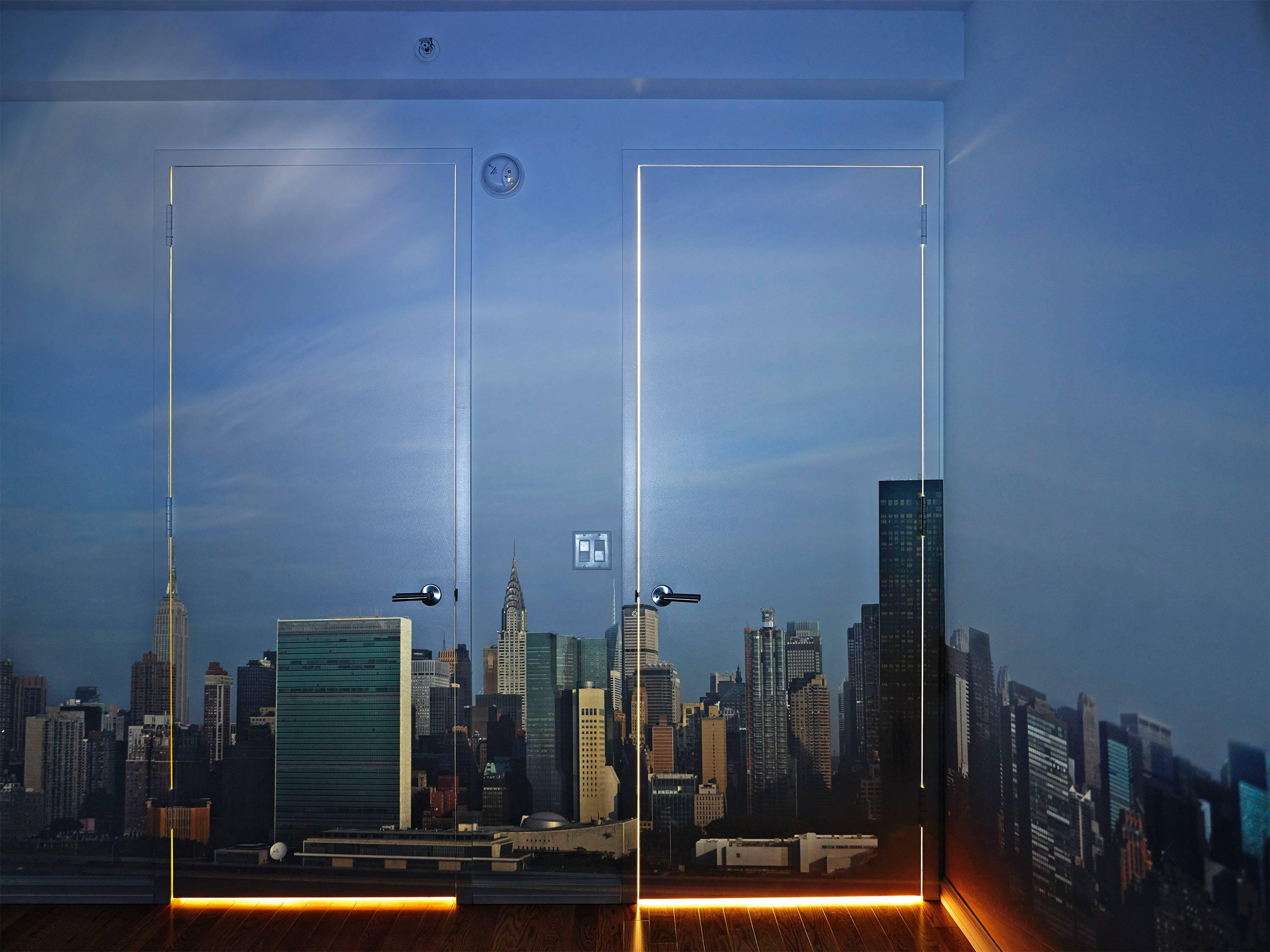 Camera Obscura: Early Morning View of the East Side of Midtown Manhattan