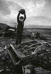 Boy Destroying Piano, Wales