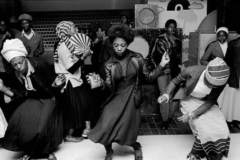 Chris Steele Perkins Girls Dancing In Wolverhampton Club