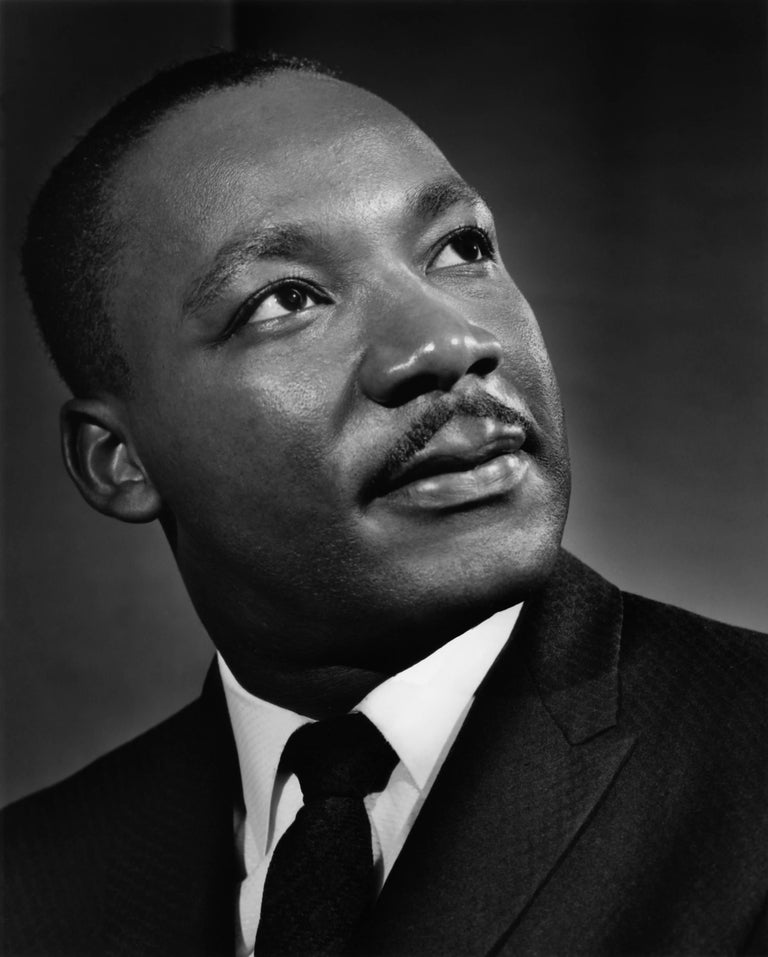 Yousuf Karsh Portrait Photograph - Martin Luther King, 1960