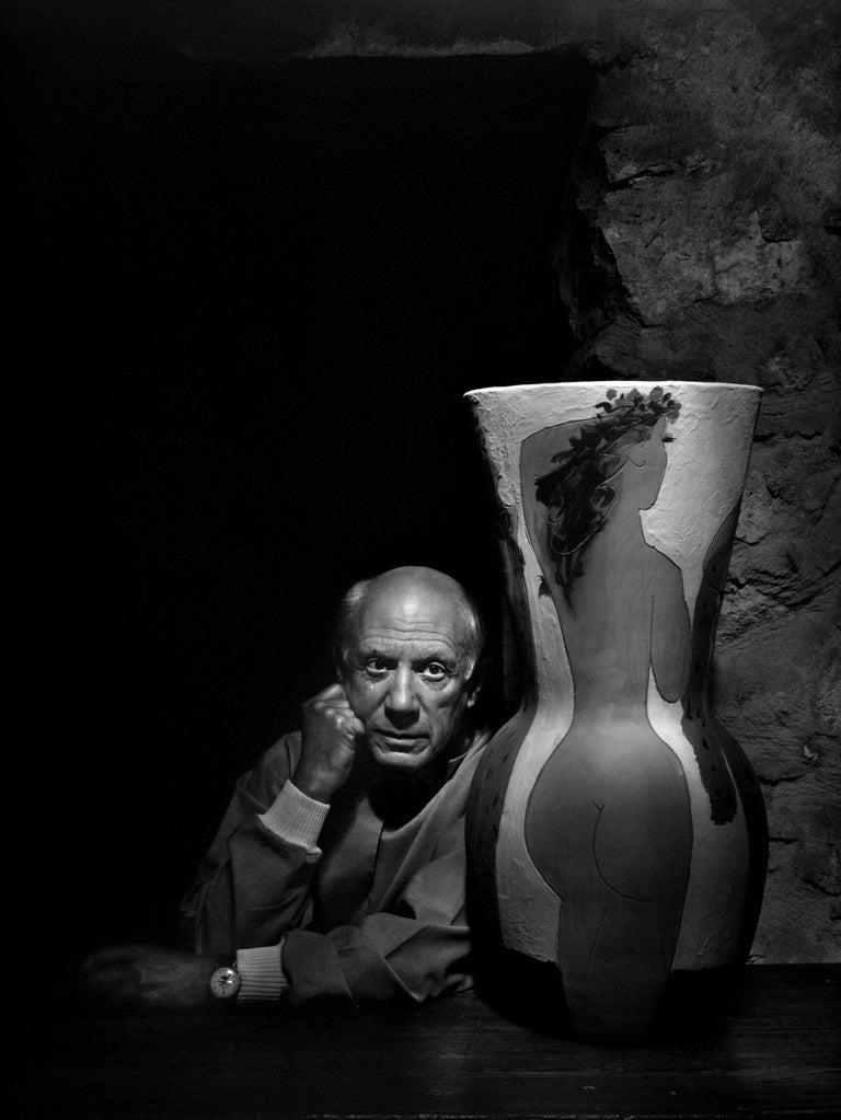 Yousuf Karsh Portrait Photograph - Pablo Picasso, 1954